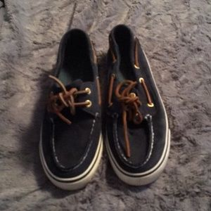 Sperry Shoes Navy Blue